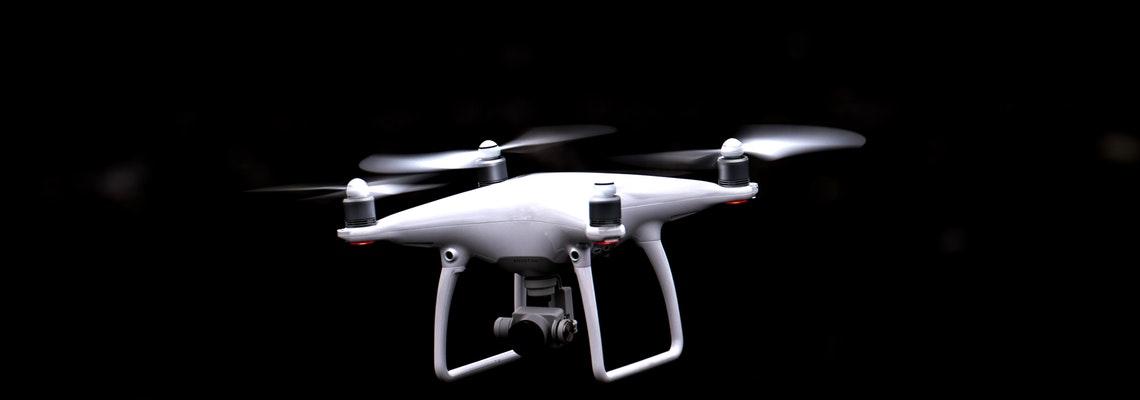 Alpha White Drone